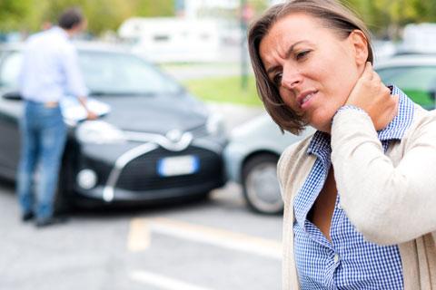 auto ongeluk whiplash